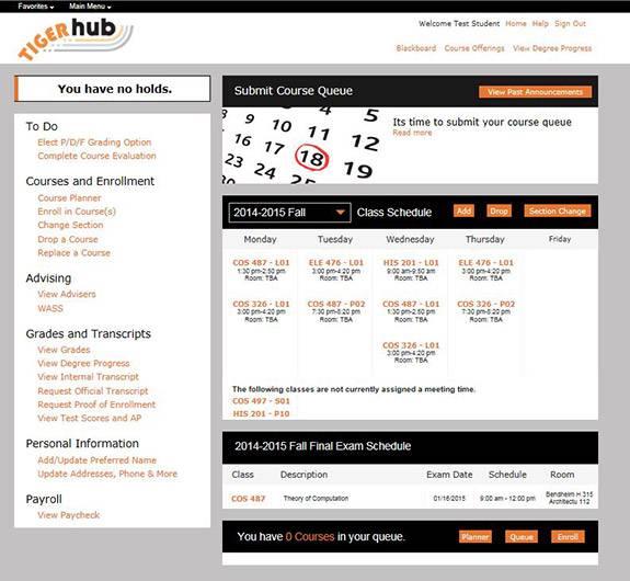 course schedule planner online