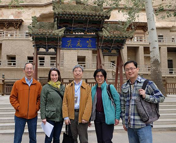 Dunhuang researchers