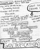 Pace Breakout Gentrification journal sketch