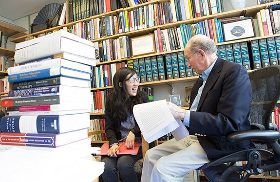 Senior Thesis Hanna Kim with professor Katz