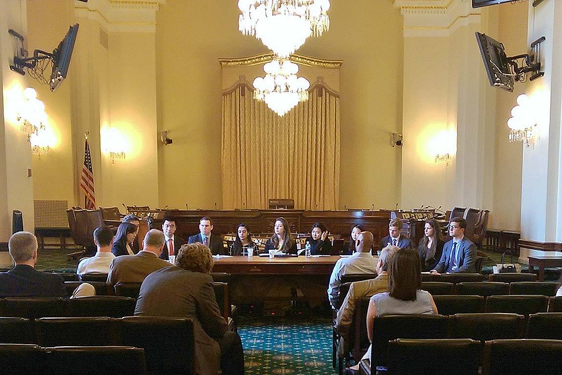 Cybersecurity taskforce in Washington, D.C.
