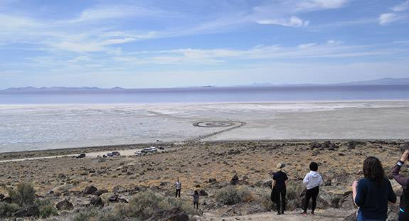 Graduate Students Spiral Jetty