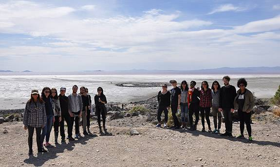 Graduate Students Spiral Jetty class