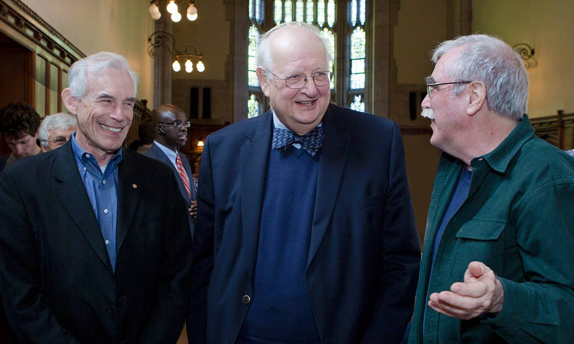 Angus Deaton with Christopher Sims and Eric Wieschaus