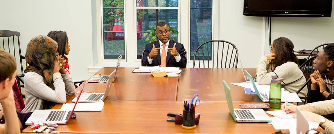 What I Think: Eddie Glaude Jr. classroom