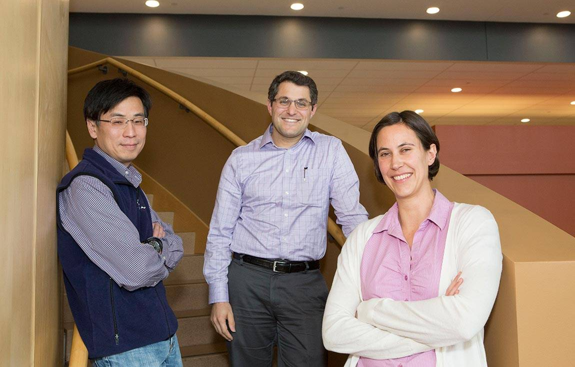 Haw Yang, Joshua Shaevitz and Sabine Petry