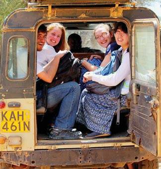 Global Health Program Princeton students at the Mpala Research Center, Laikipia County, Kenya