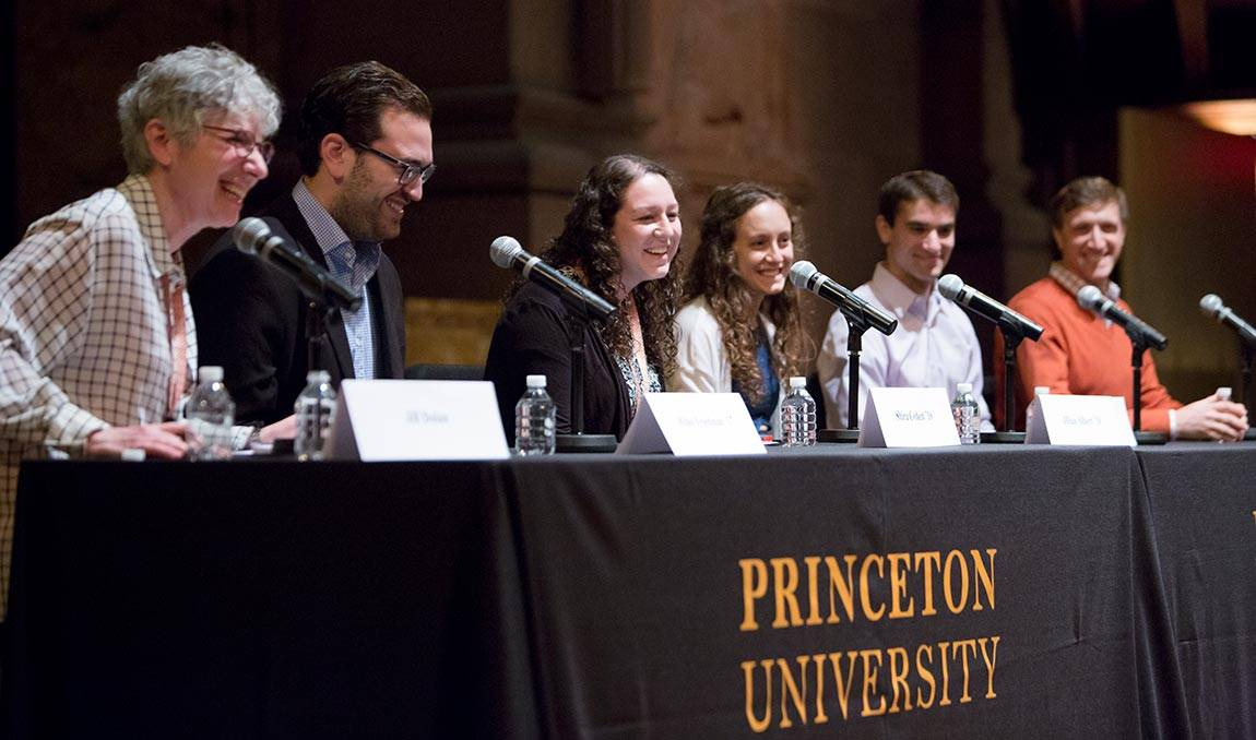L'CHAIM! TO LIFE. Celebrating 100 Years of Jewish Life at Princeton: Jill Dollan with student panel