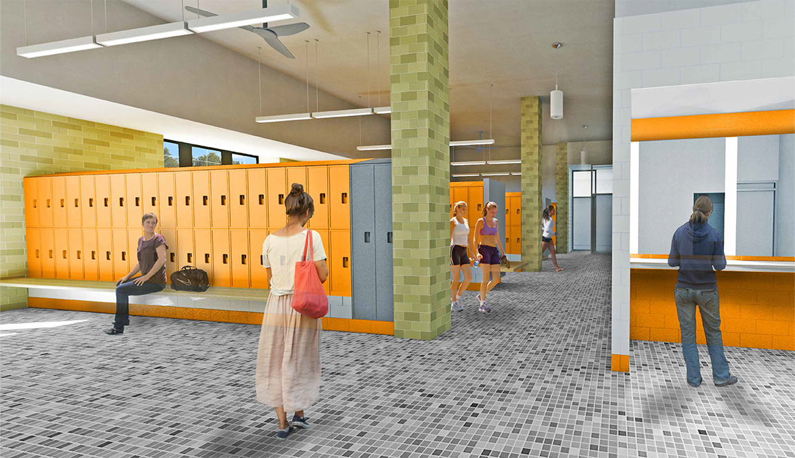 Dillon gymnasium pool locker rooms to close for renovations