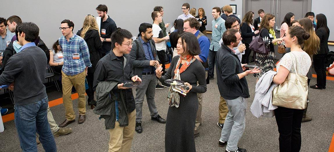 Princeton Research Day reception