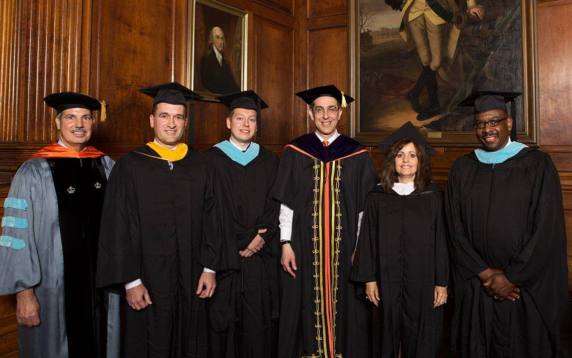 Secondary School Teachers Honored at Princeton Commencement