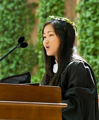Commencement 2016 Salutatorian Esther Kim