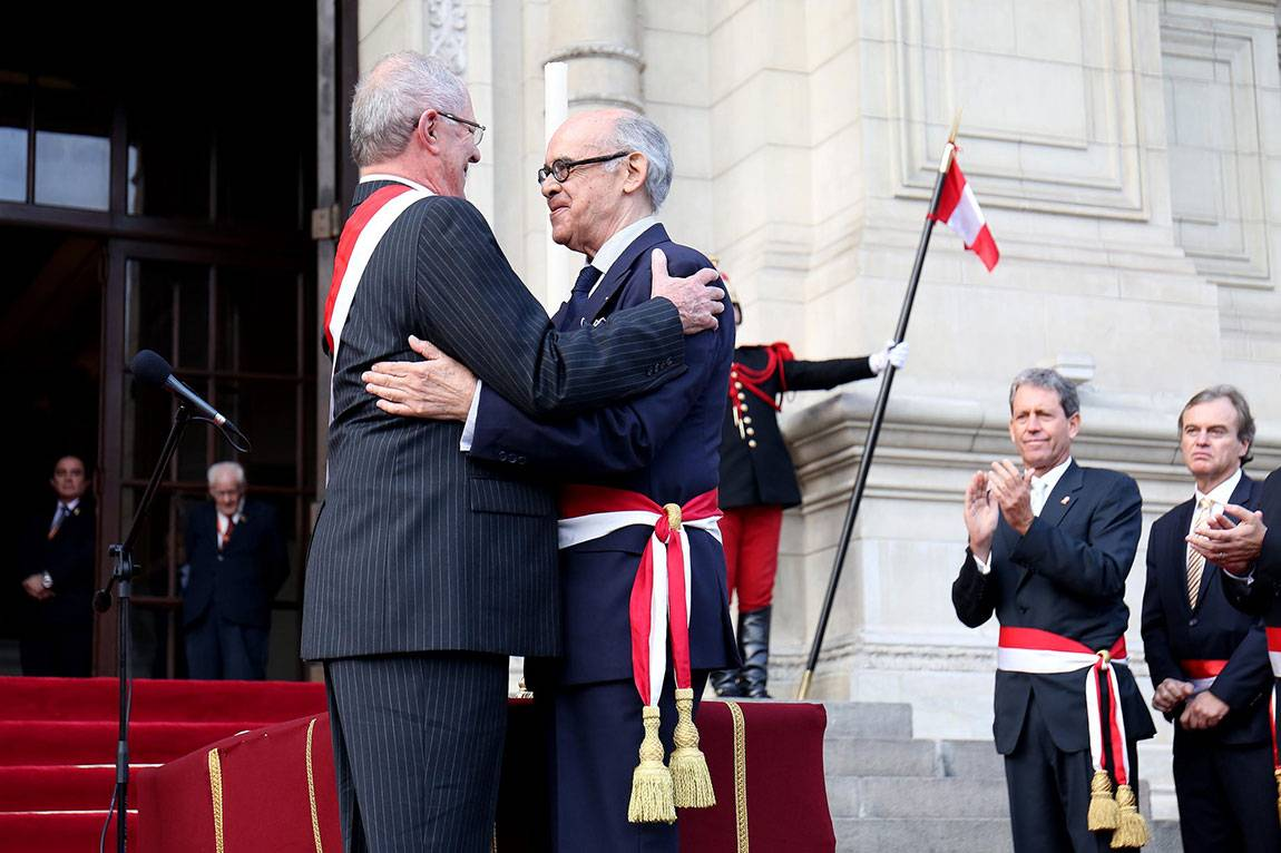 Peru's new president, Pedro Pablo Kuczynski, and its new foreign minister, Ricardo Luna, are both University alumni.