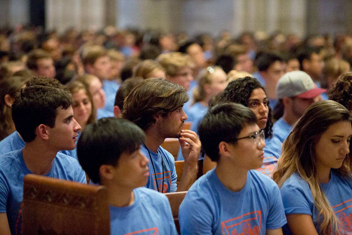 Opening Exercises 2016 in the chapel