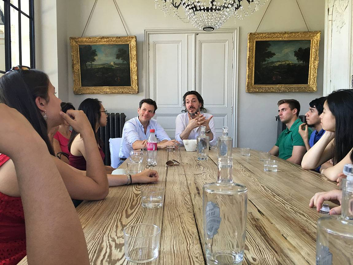 A Tale of Two Countries: France - Guillaume Gallienne visits with students