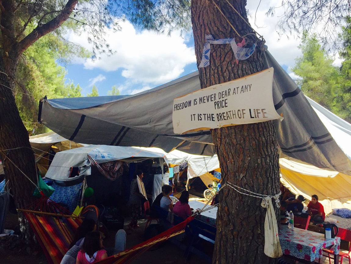 A Tale of Two Countries: Greece - refugees at Ritsona camp near Piraeus
