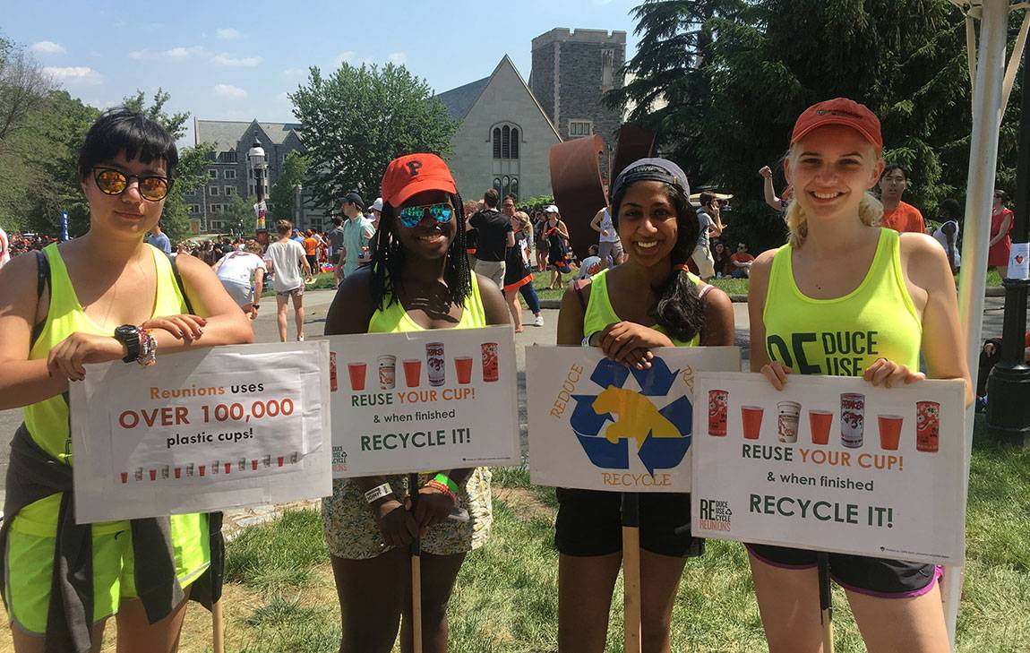 EcoReps march in the 2016 P-rade at Reunions