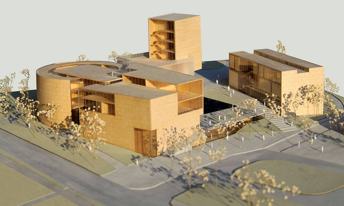Lewis Center for the Arts (architect model) to open in one year
