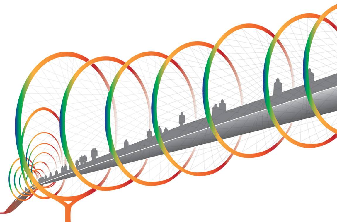 Discovery Smart Cities bridge illustration