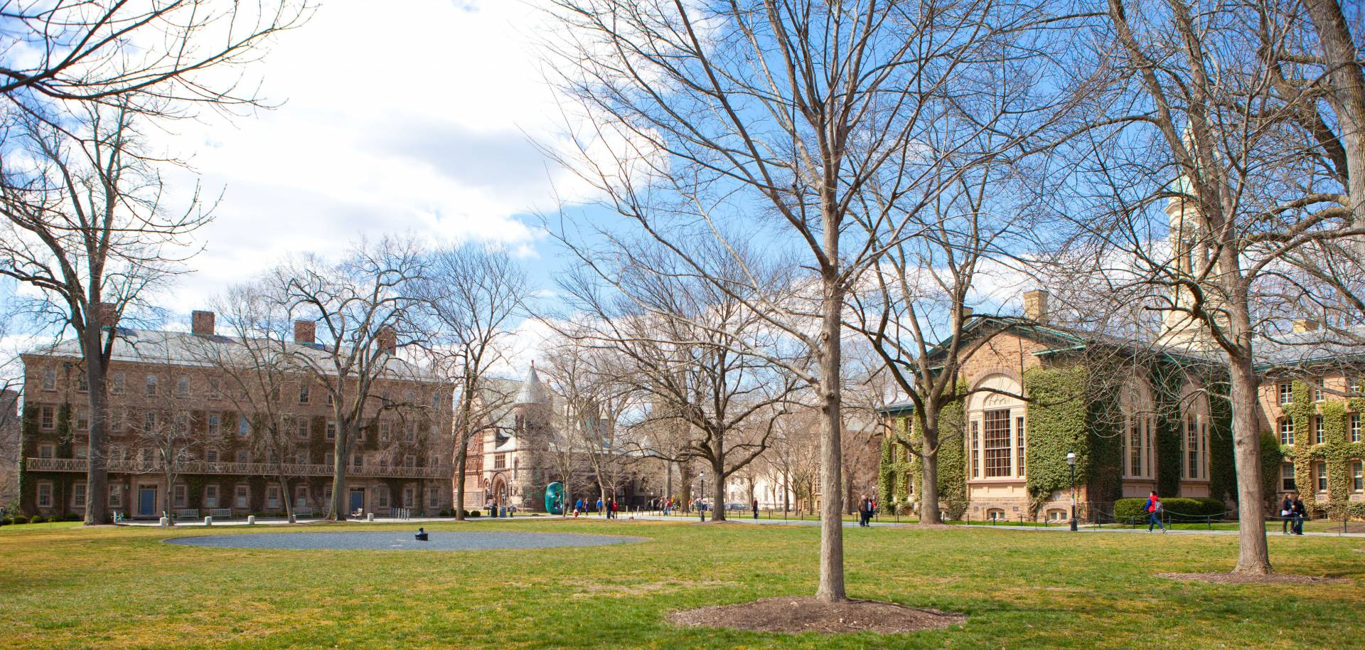 West College and Nassau Hall
