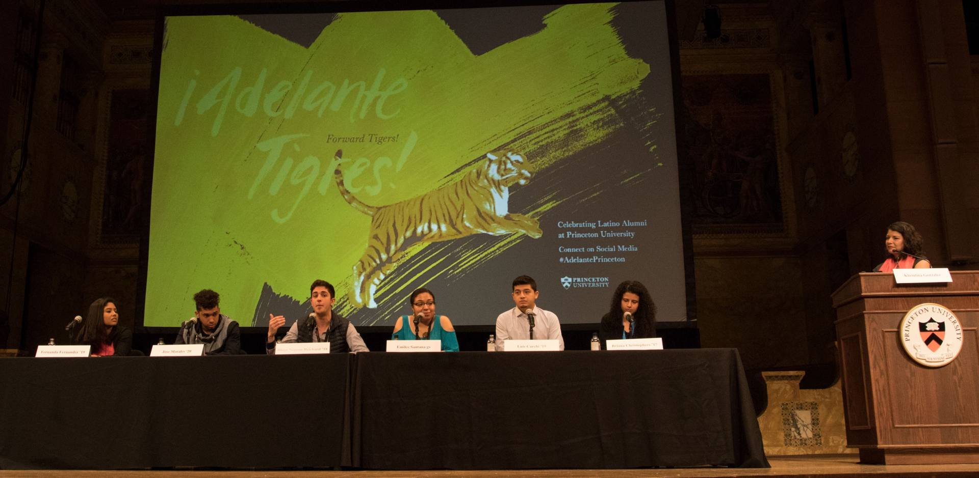 Adelante Tigres Conference: Student panel with Khristina Gonzalez