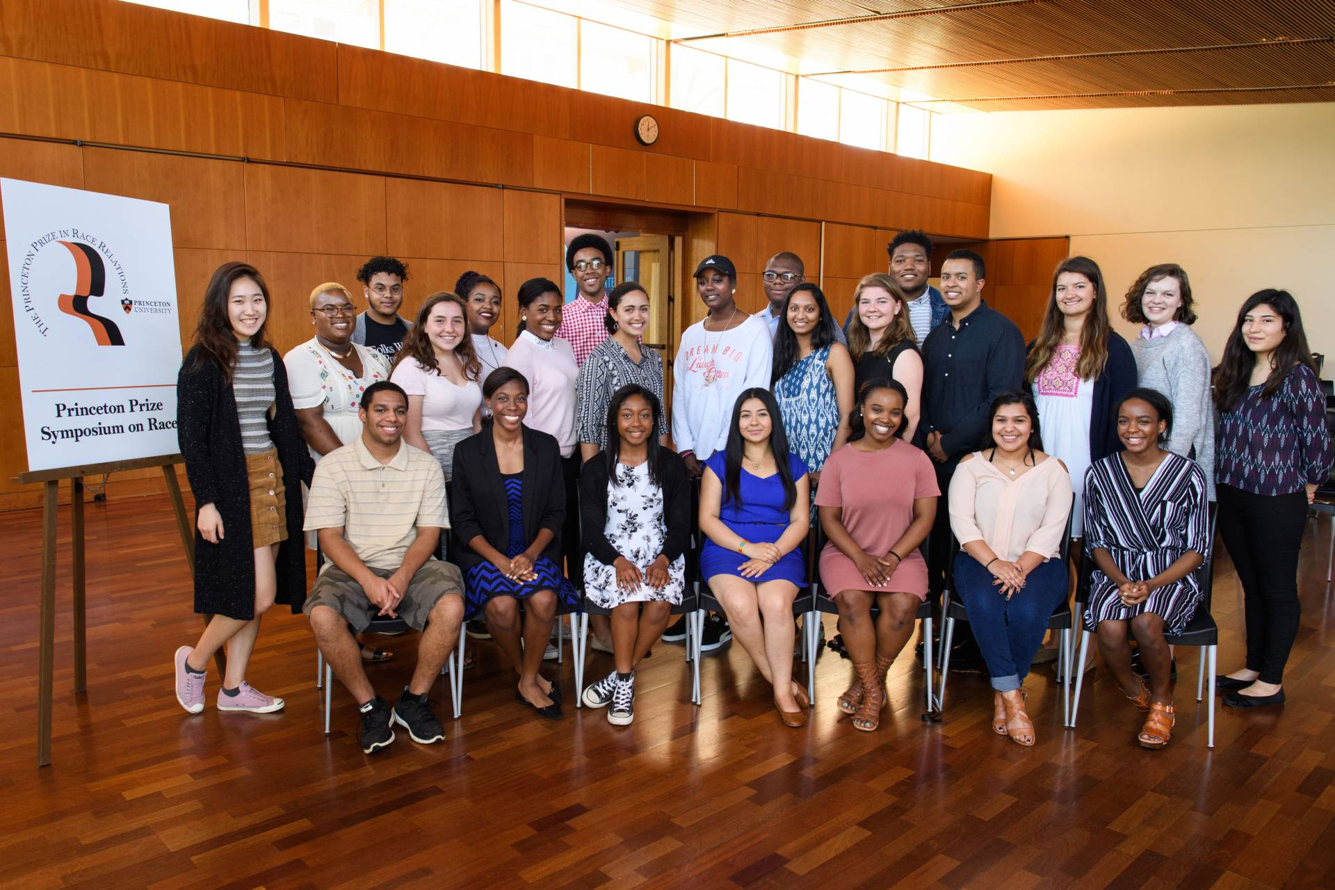 Princeton Prize in Race Relations students