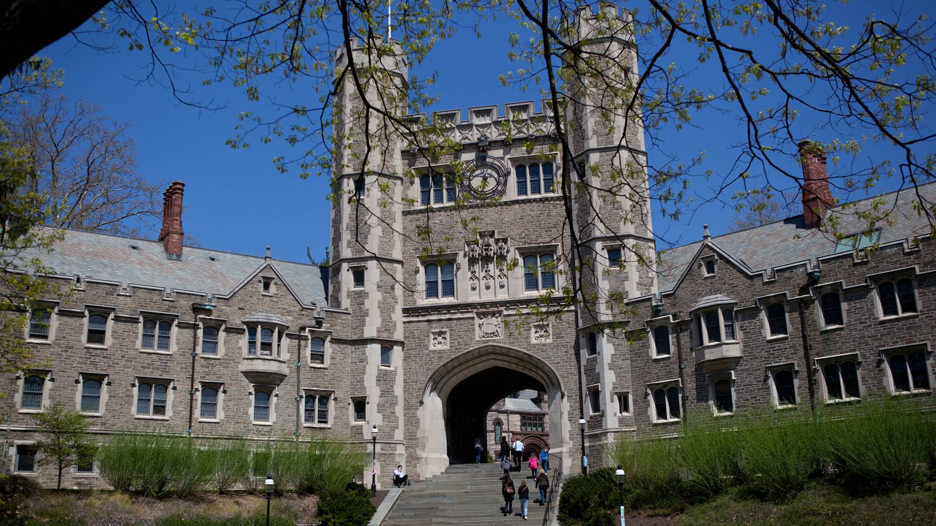 Exterior of Blair Hall