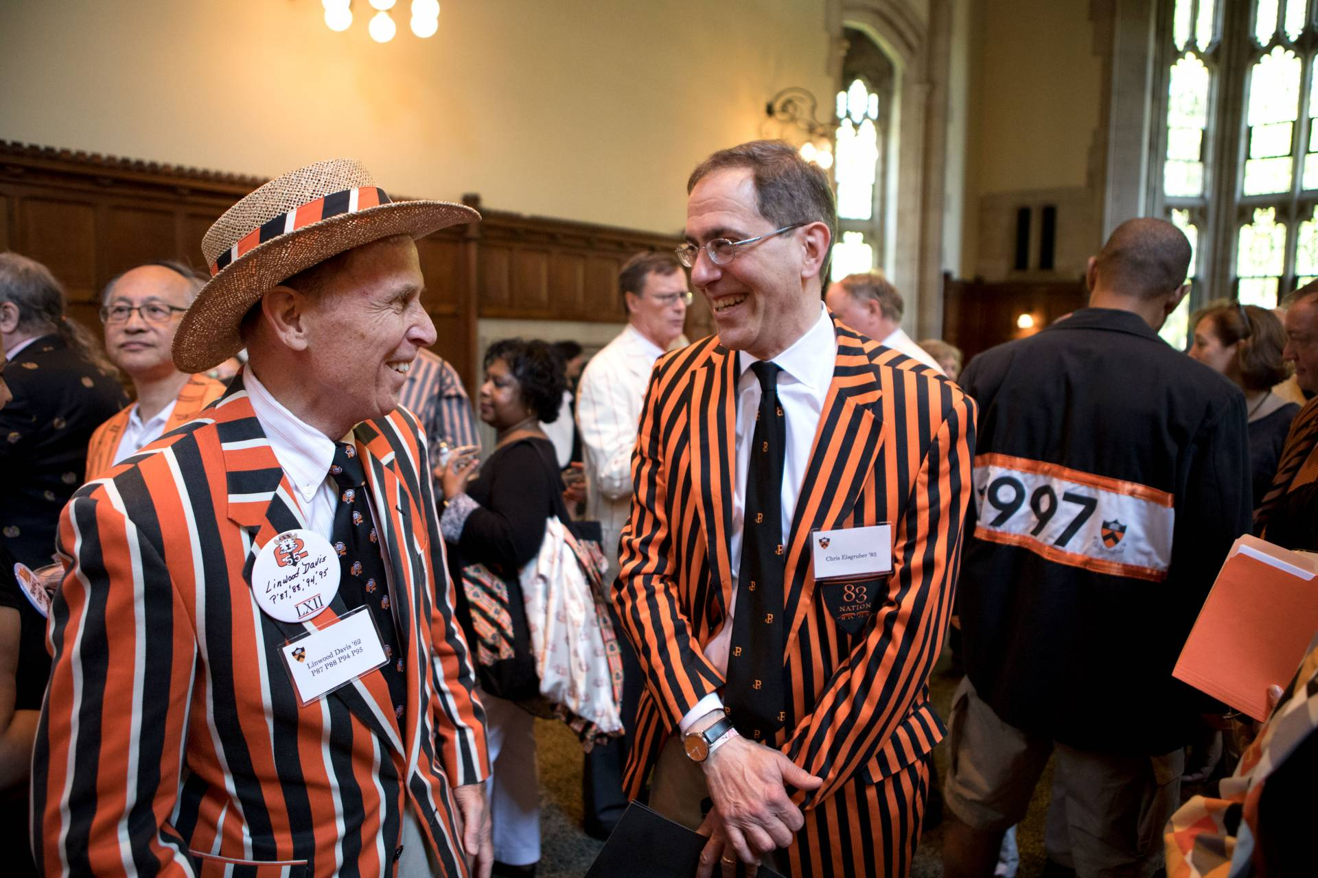 Think global arrive local Princeton alumni reconnect at Reunions