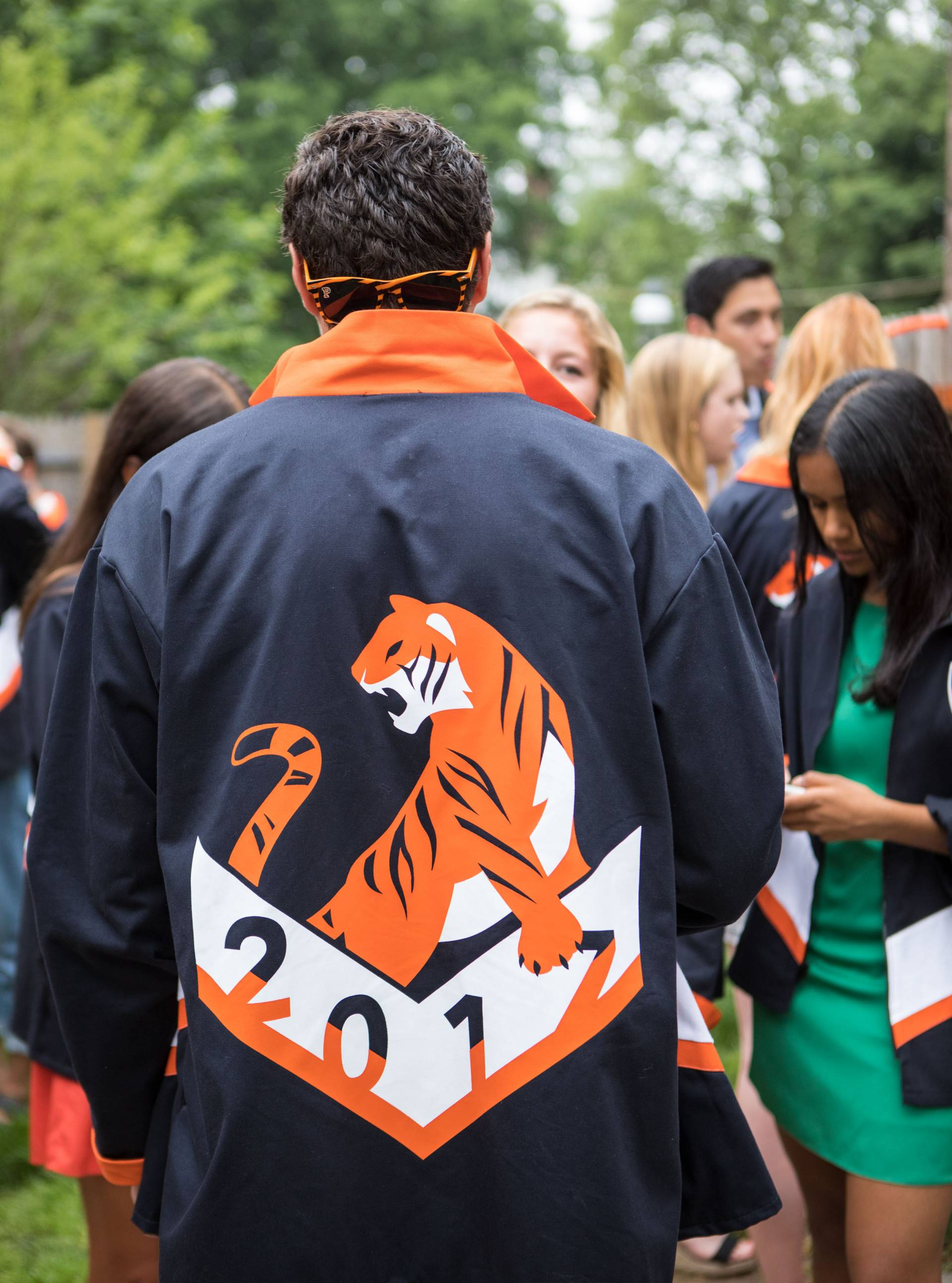 Back of Class Day 2017 jacket