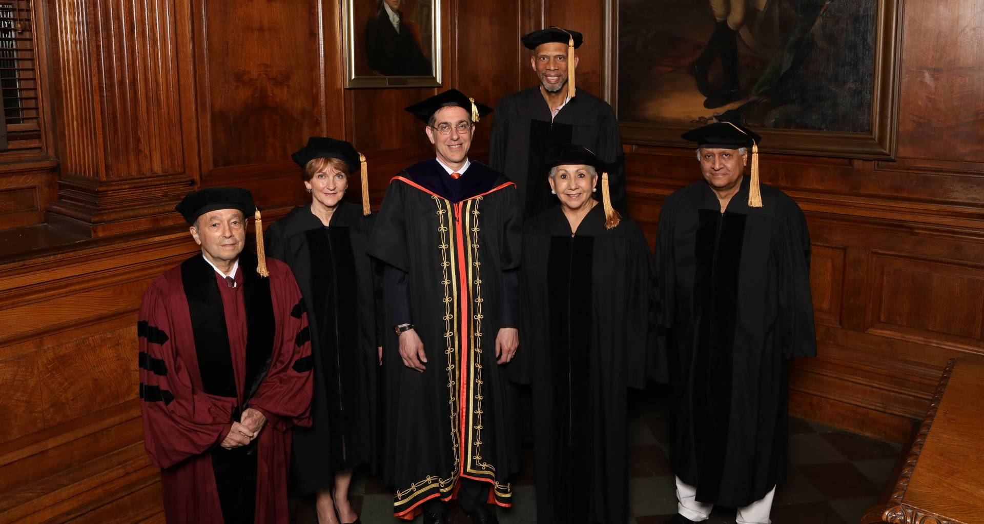 Honorary Degree awardees for 2017