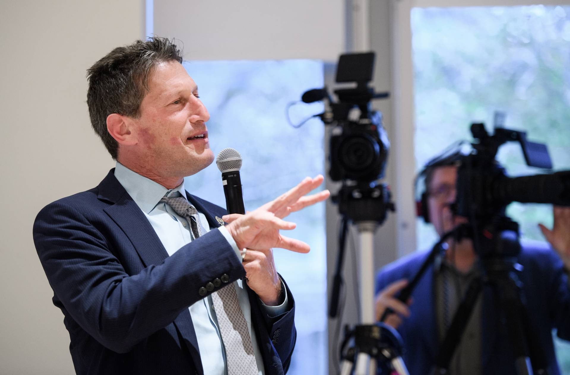 Andrew Zwicker speaking