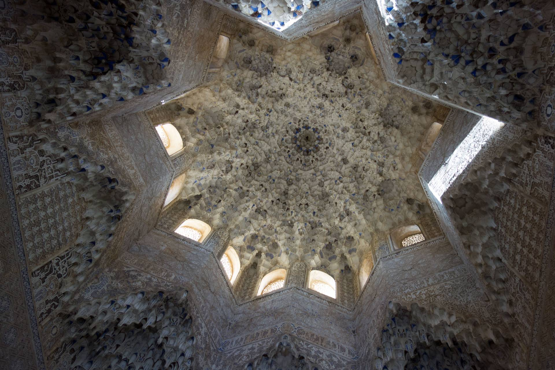 Ceiling in La Alhambra