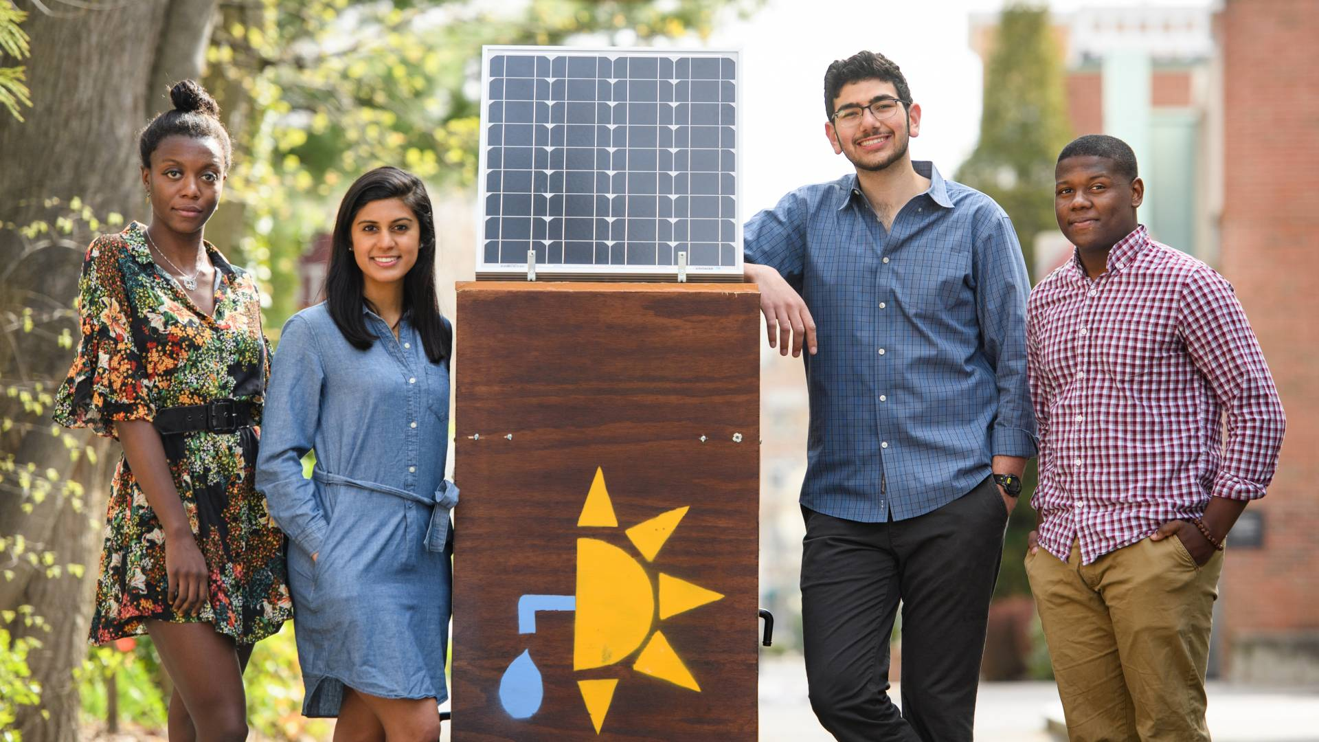 Startup culture meets social good as Princeton students innovate for