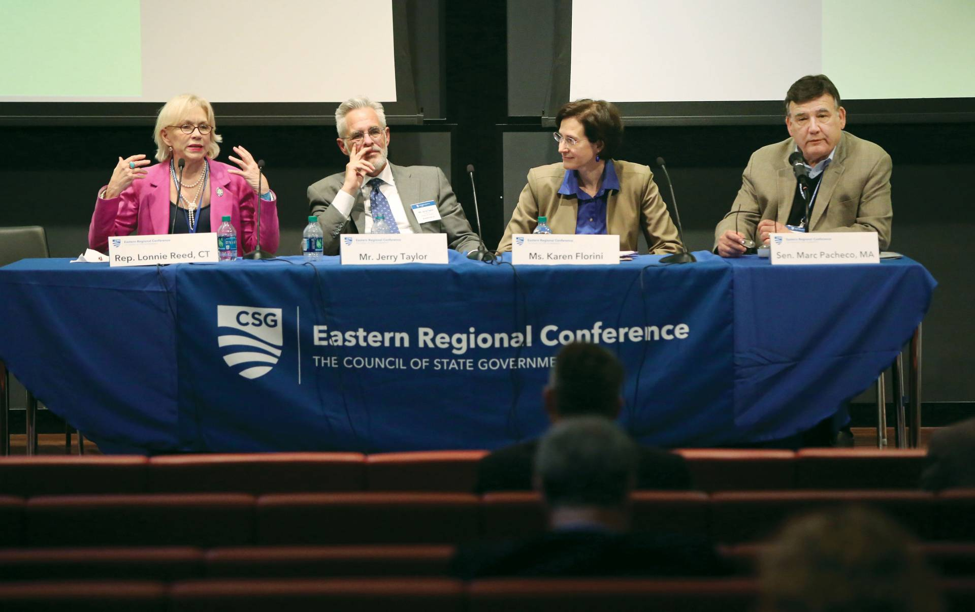 Andlinger Center climate change conference panel