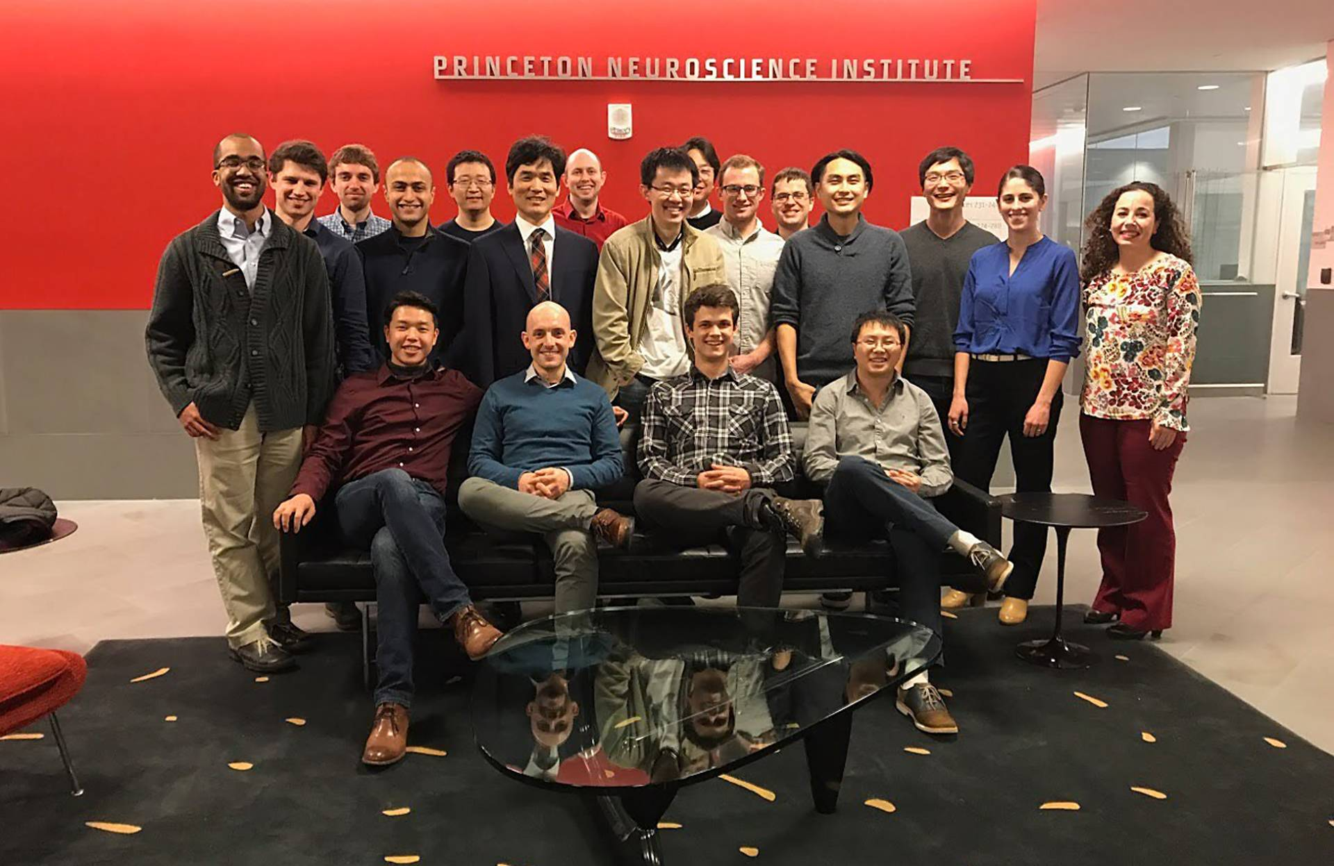 Members of Princeton's Seung Lab