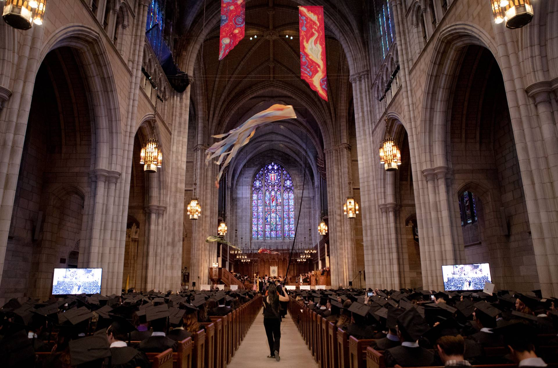 Interior of Chapel during Baccalaureate ceremony