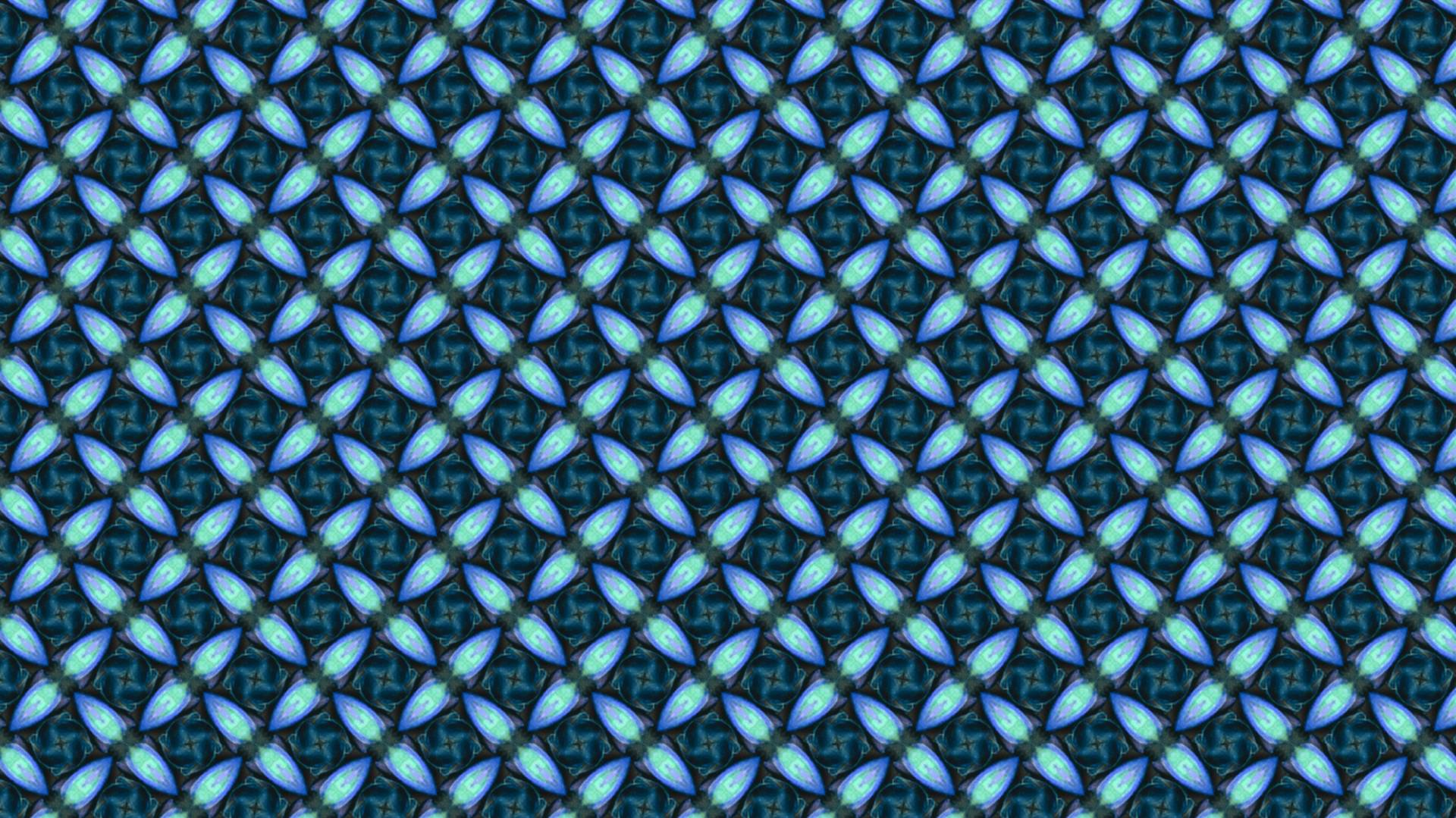 An insulating material using the symmetry principles behind wallpaper patterns