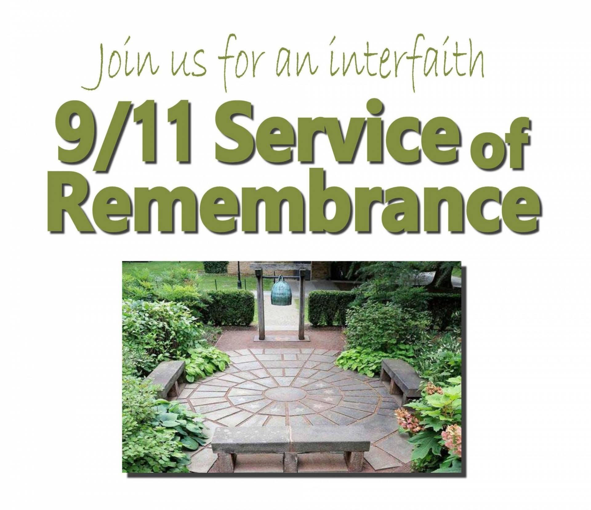 Interfaith 9 11 Service Of Remembrance