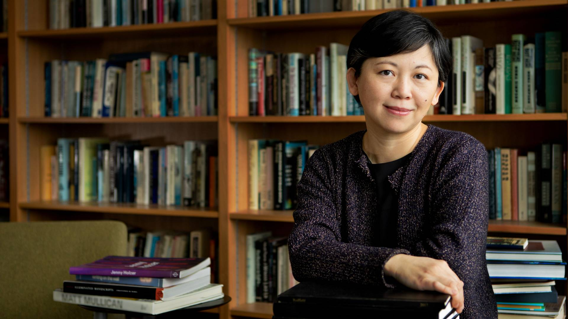 Yiyun Li in her office