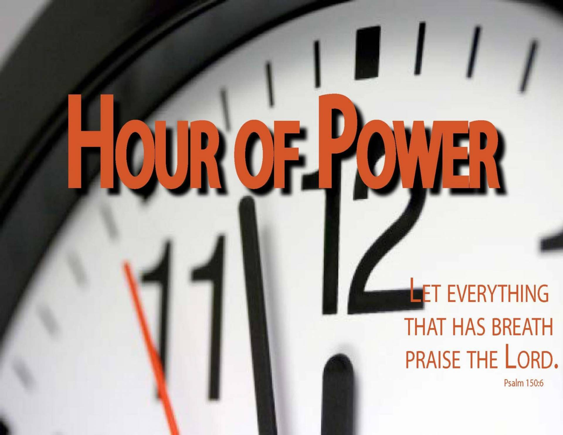 Hour of Power Worship Service with guest preacher Rev. Rashad D. Grove