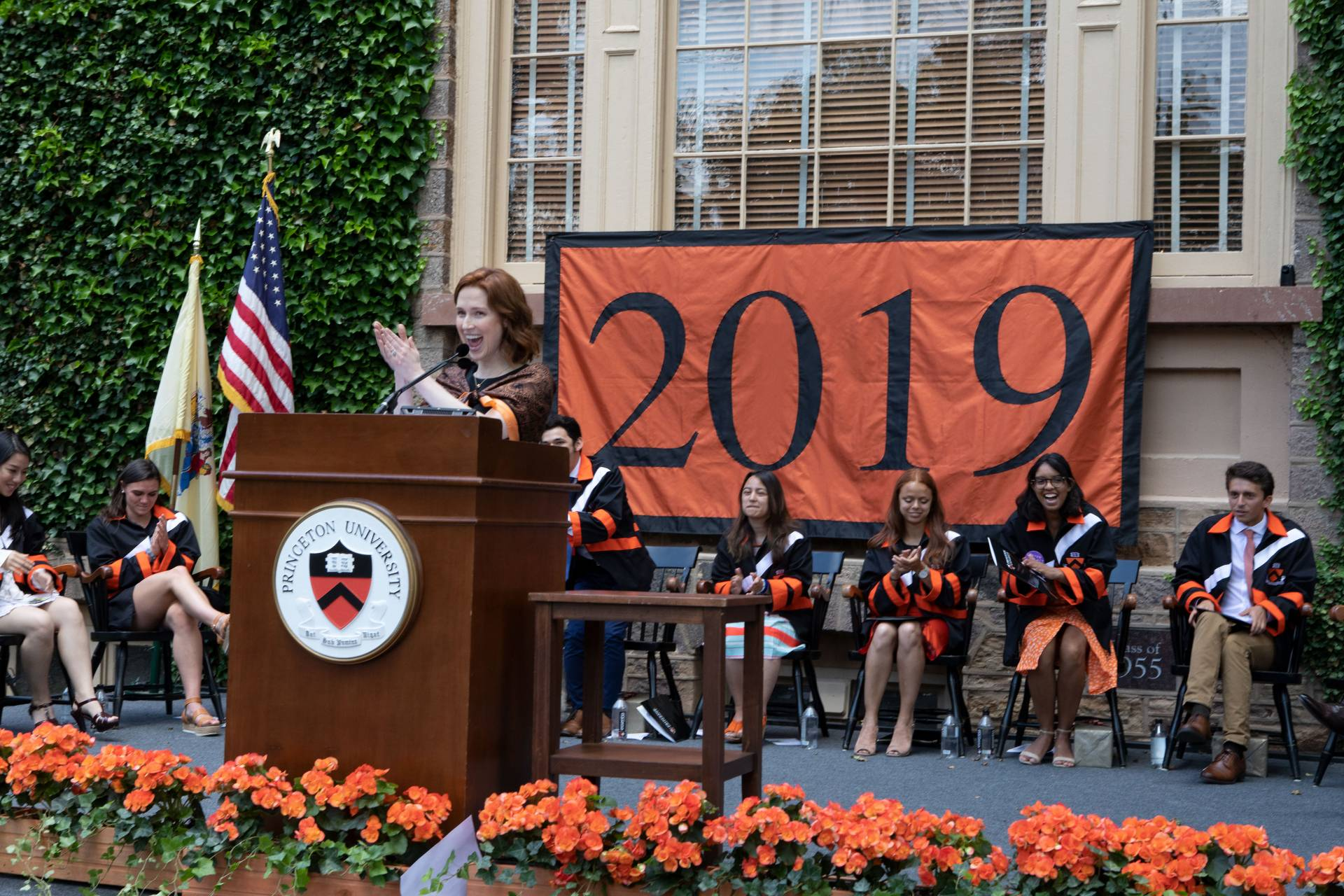 Kemper addresses the class of 2019
