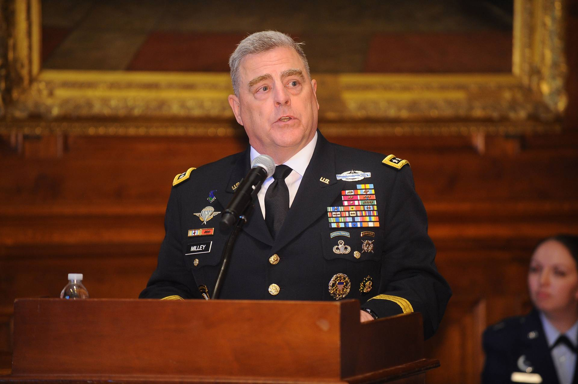After Princeton graduation, ROTC students are commissioned