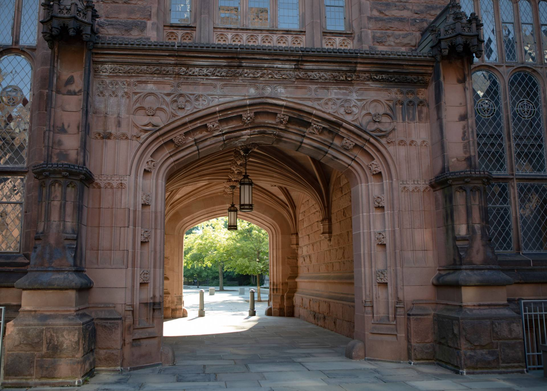 Johnson Arch on a sunny day