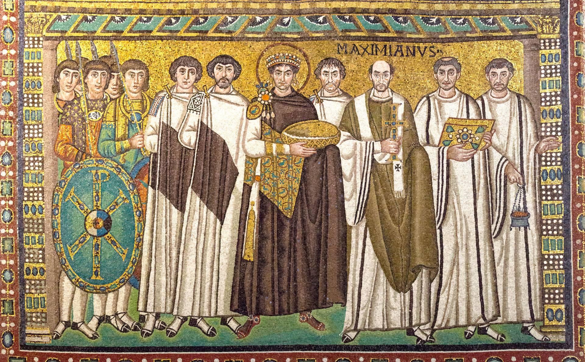 Mosaic in the Basilica of San Vitale