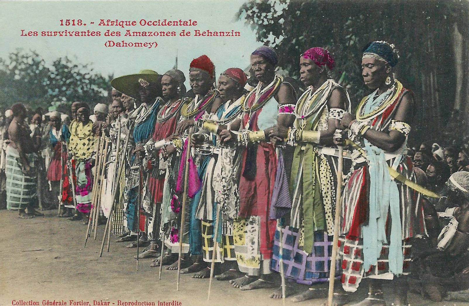 Archival image of an African tribe