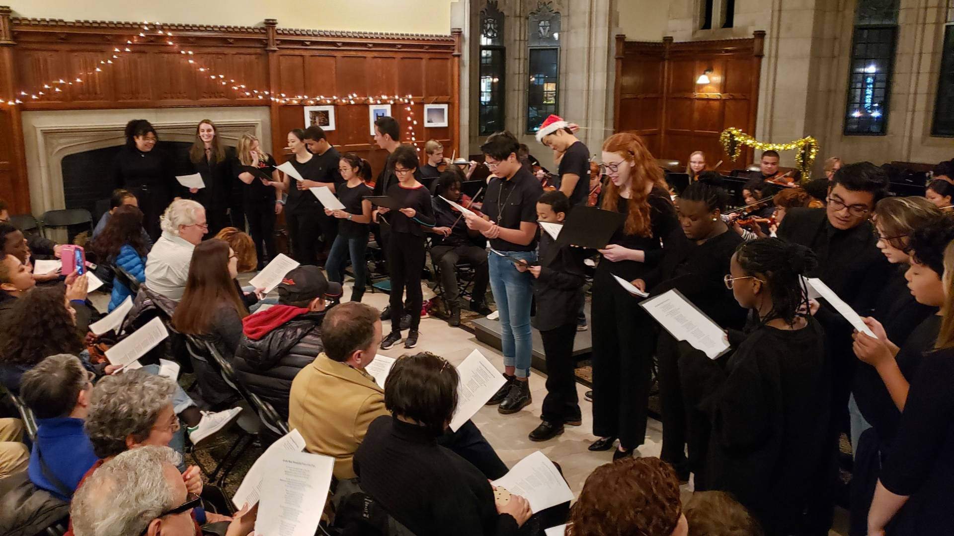 Trenton Arts Program holiday concert