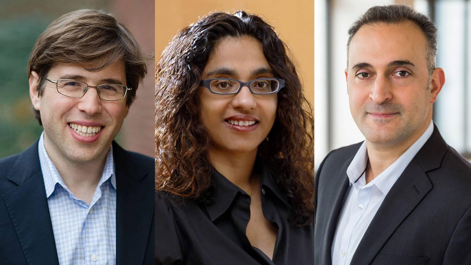 Elad Hazan, Matthew Salganik, Mona Singh