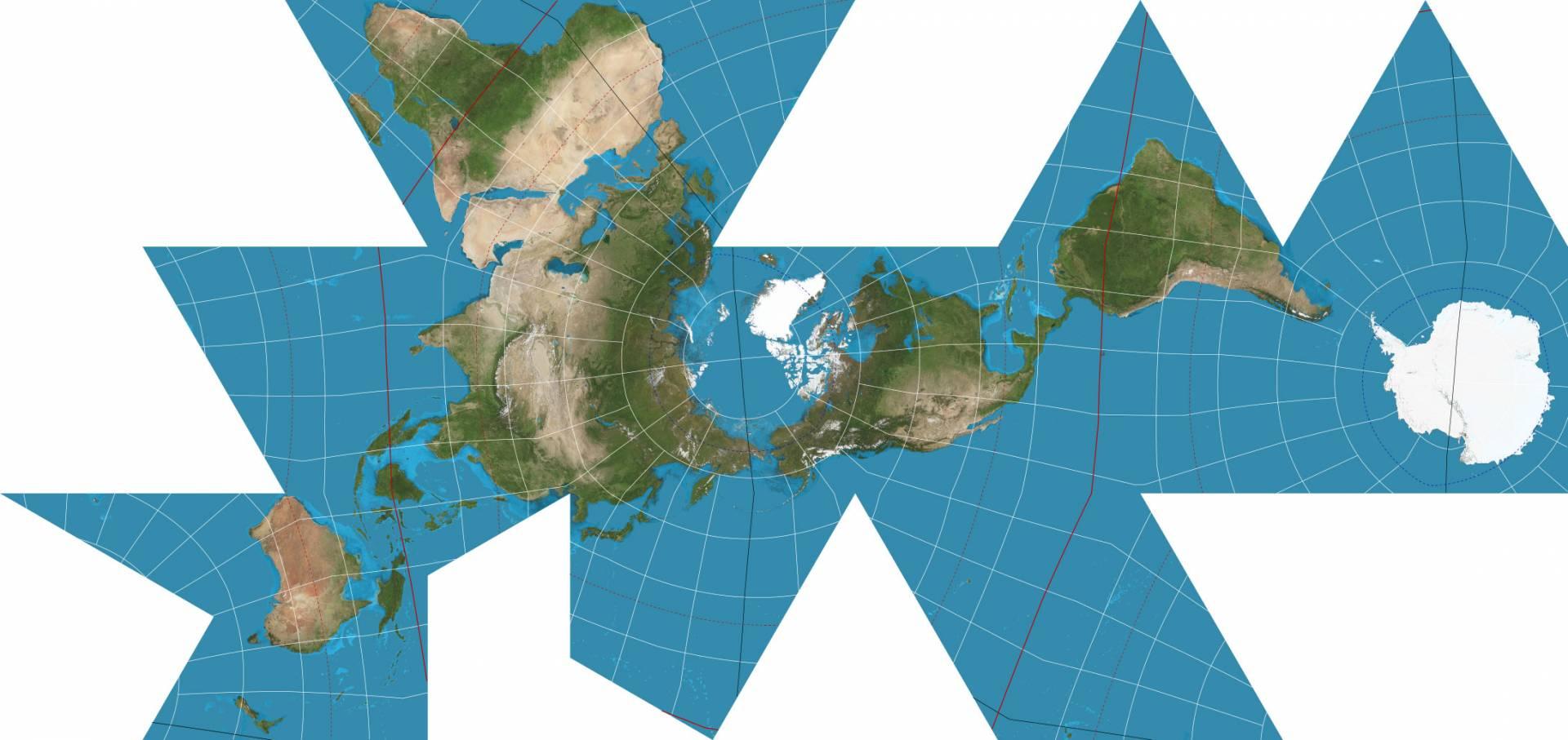 خريطة العالم الجديدة