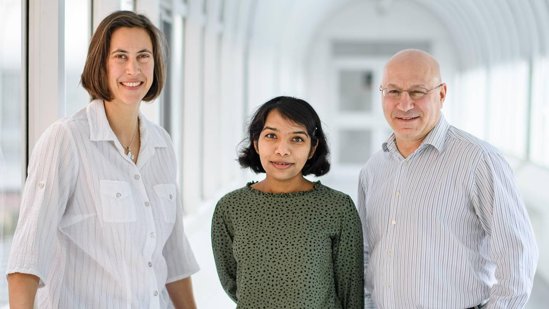 Sabine Petry, Akanksha Thawani, Howard Stone