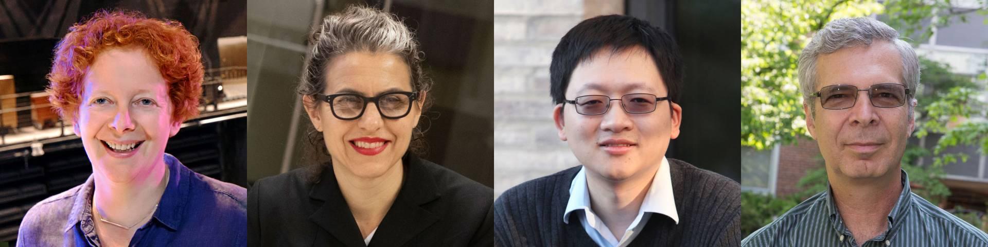 Jane Cox, Marina Rustow, Minjie Chen and Peter Jaffe